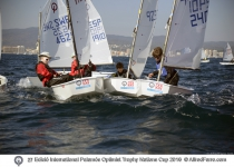 Excellent wind conditions on day two in Palamós
